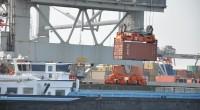 'De binnenvaart heeft een voorsprong door de lagere kosten.' (archieffoto Tekst & Toebehoren)