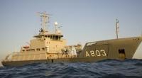 De Marine heeft de Luymes naar de plaats van het wrak gestuurd. (foto Koninklijke Marine)