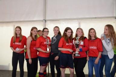 De Meerpaal won bij de meisjes 11-15 jaar.