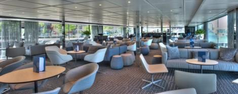 De stijlvolle lounge. (foto Hans Heiligers)