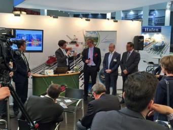 Rheinports lanceerde RPIS in München op de beurs Transport Logistic.