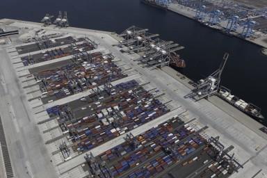 RWG is de eerste terminal die volledig met de nieuwe service werkt. (foto RWG)
