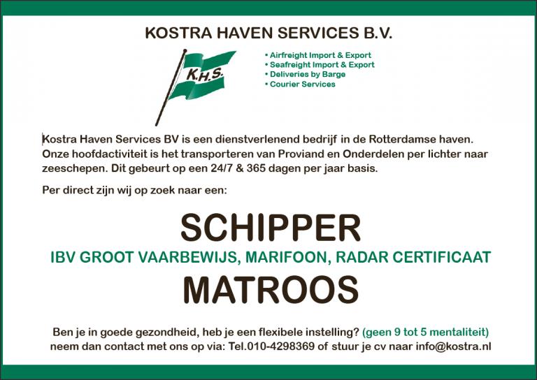 Schipper & matroos