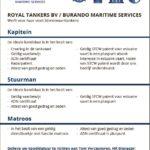 ROYAL TANKERS BV / BURANDO MARITIME SERVICES