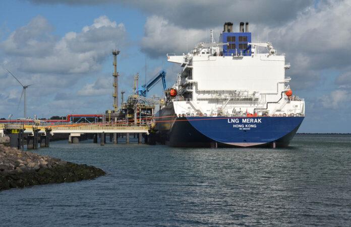 LNG-tanker Rotterdam