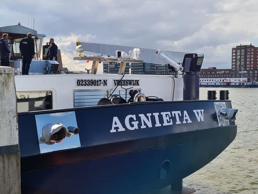 achterschip Agnieta-W