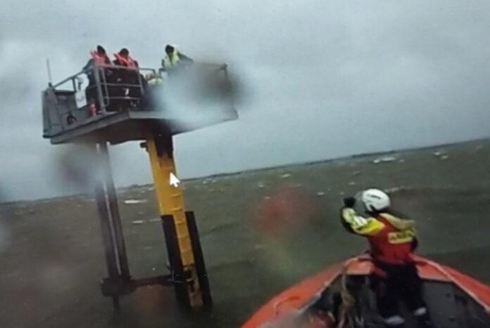 redding op IJsselmeer
