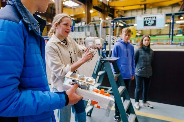 Technasiumproject in de RDM Campus Innovation Deck