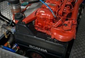 Stage-V motor van Scania