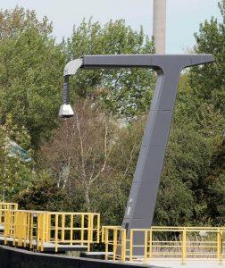 laadarm voor elektrische pont