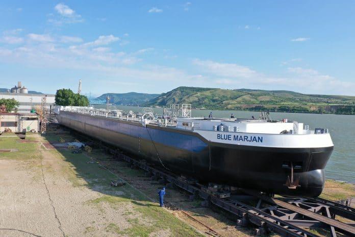 eerste casco van Parsifal-tankers