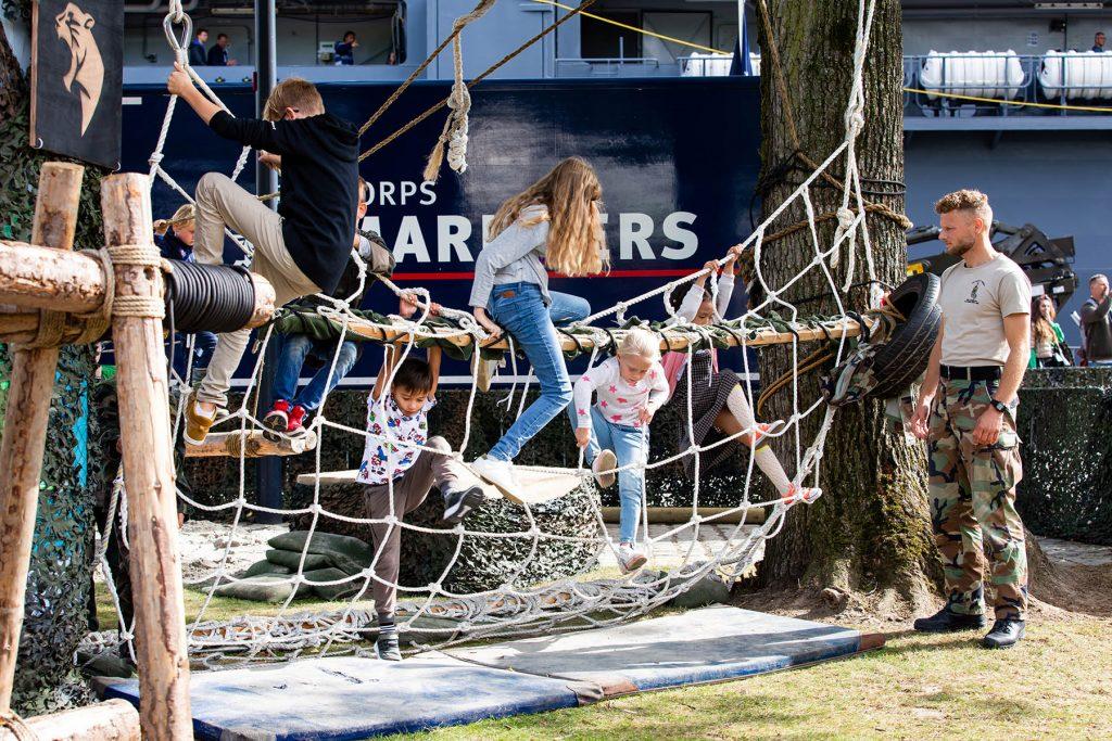 mariniersdorp tijdens Wereldhavendagen