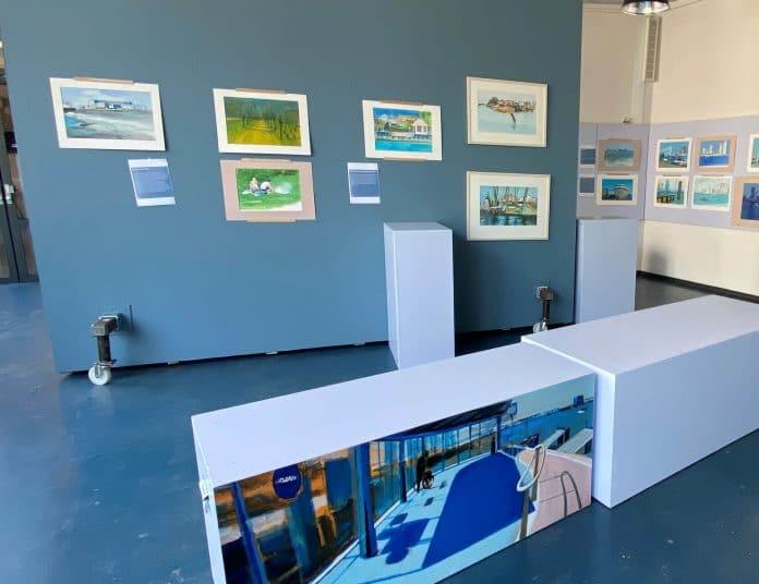 expositie in Baggermuseum