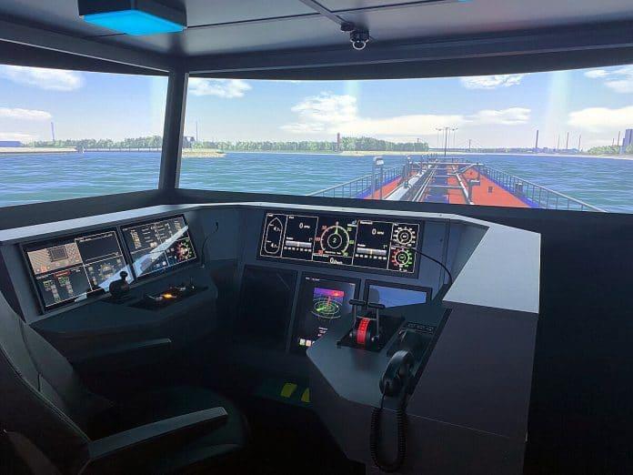 Binnenvaartimulator SANDRA II