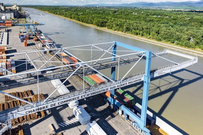 inland containerterminal van Swissterminal