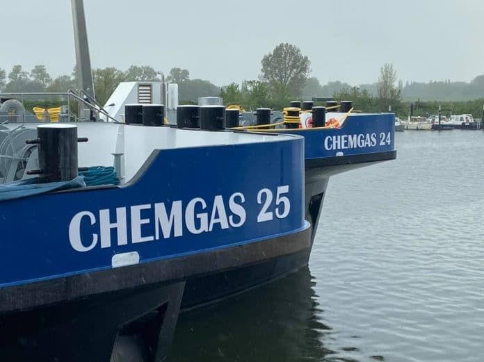 duwbakken Chemgas 24 en Chemgas 25