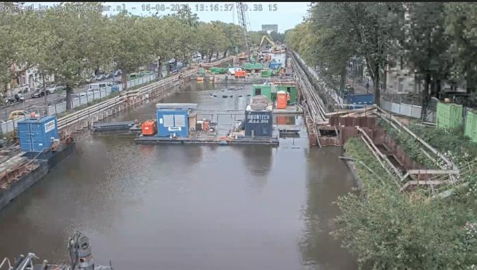 webcam parkeergarage Singelgracht