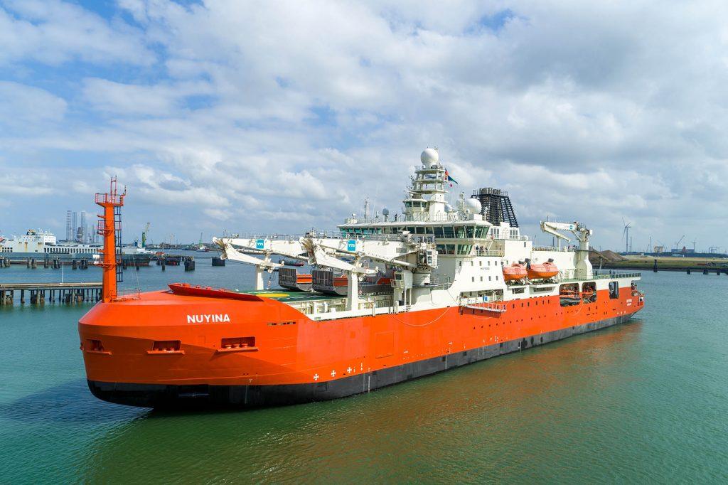 poolonderzoeksschip Nuyina
