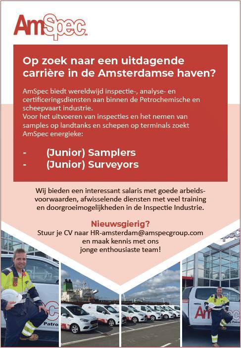 (Junior) Samplers –(Junior) Surveyors