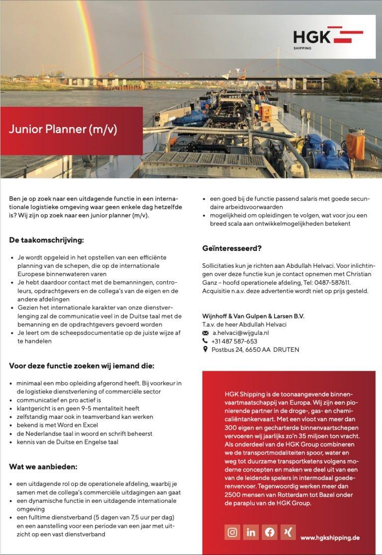 Junior Planner (m/v)